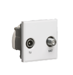BNETDISAT Modular diplexed TV/SAT TV outlet